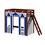 Thumbnail: Maxtrix Playhouse Angle Loft with angle ladder
