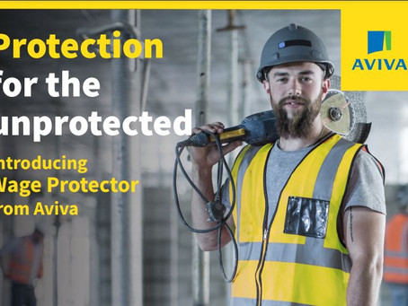 Wage Protector from Aviva: A Gamechanger