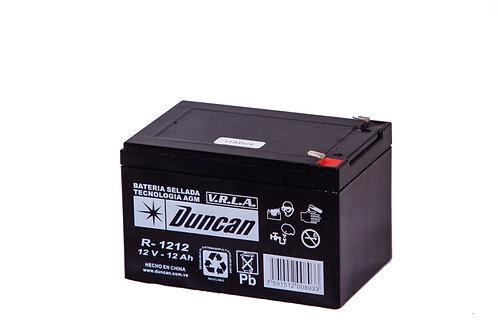 Batería sellada, recargable 12v,12 Ah
