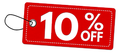 special-offer-10-off-label-or-price-tag-