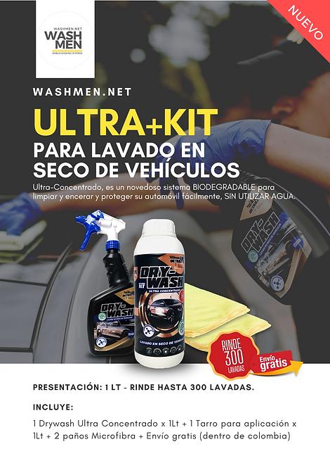 Ultra+Kit / DryWash / 300 Lavadas