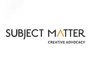 Team Subject Matter