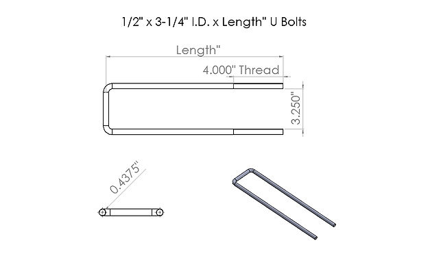 1-2 x 3-1-4 x Length U-Bolt drawing (1).