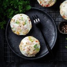 Munavalge muffinid