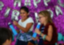 Birthday singing
