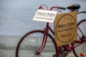 Mason Dixon American Sandwich Bar Bike Sign