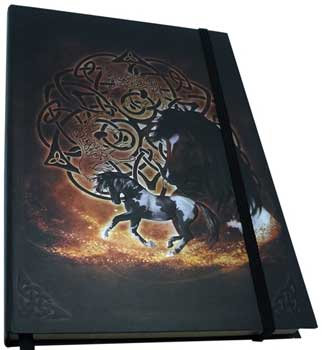 "5 1/2"" x 8"" Celtic Horse journal (hc)"