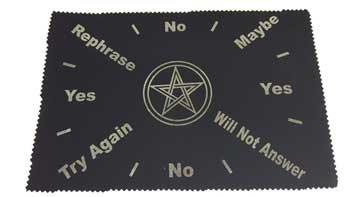"""8""""x12"""" Pentagram pendulum mat"""