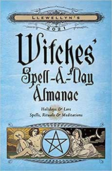2021 Witches Spell A Day Almanac by Llewellyn