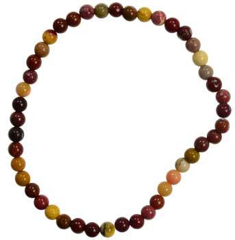 4mm Mookaite Jasper stretch bracelet