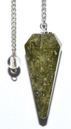 6-sided Vasonite pendulum