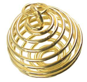 """1"""" Gold Plated coil"""
