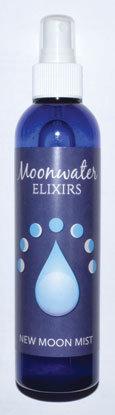 8oz New Moon Mist moonwater elixir