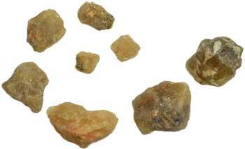 1 lb Topaz untumbled stones