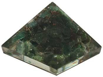 25-30mm Orgone Green Aventurine pyramid