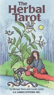 Herbal tarot deck by Tierra & Cantin