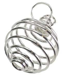 """3/4"""" Silver Plated coil"""