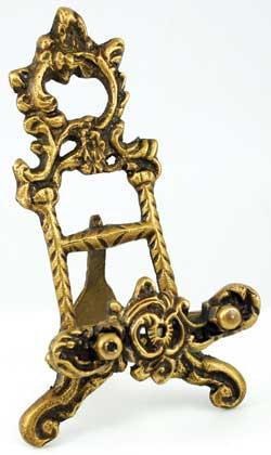 """Brass Scrying Mirror 6"""" holder"""