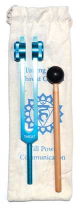 "8 1/2"" Throat (light blue) tuning fork"