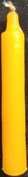 """9/16"""" Orange chime candle 20pk"""