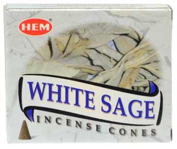 White Sage HEM cone 10 cones