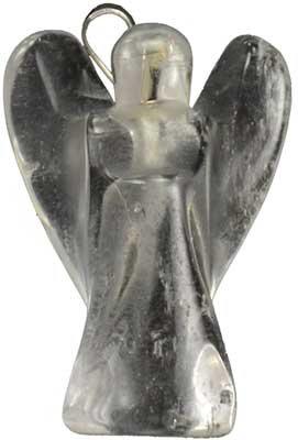 Clear Quartz Angel pendant