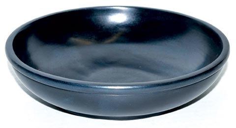 "Black Stone Scrying Bowl 6"""