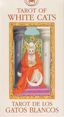 Tarot of the White Cats Mini deck by Baraldi