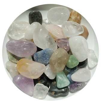 1 lb Mixed tumbled stones
