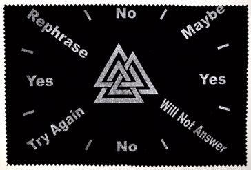 "8""x12"" Triple Triangle pendulum mat"