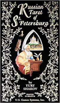 Russian Tarot of St Petersburg by Yury Shakov