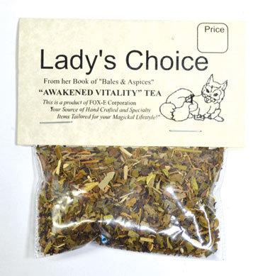 Awakened Vitality tea (5+ cups)