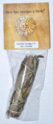 "3"" Lavender smudge stick"