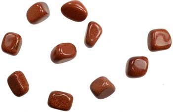 1 lb Red Goldstone tumbled stones