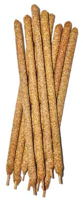 "8"" Palo Santo stick 10/pk 8mm dia"