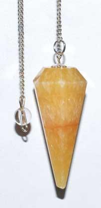 6-sided Calcite pendulum