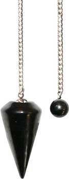 plain Shungite pendulum