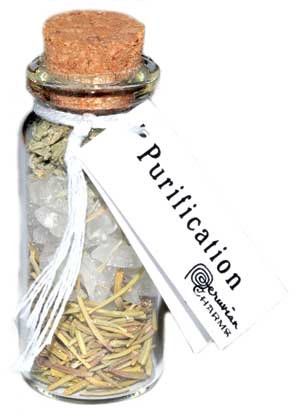 Purification pocket spellbottle