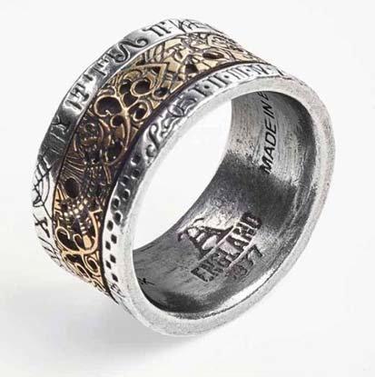 Dr. Von Rosenstein's Induction Principle ring Size 9.5