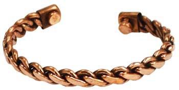 Copper Magnetic bracelet heavy