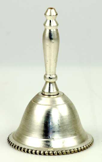 """Unadorned altar bell 2 1/2"""""""
