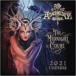 2021 Alchemy Gothic Calendar by Llewellyn