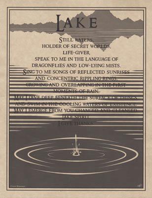 Lake Prayer poster
