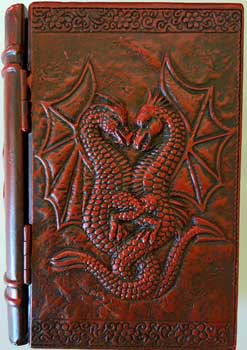 "4"" x 6"" Dragon book box"