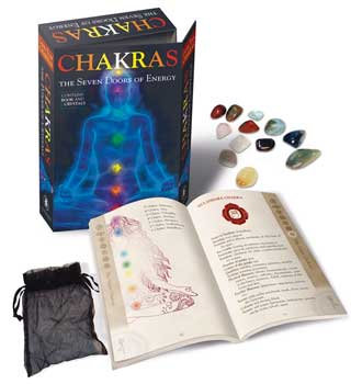 Chakras, Seven Doors of Energy (bk & 7 crystals) by Lo Scarabeo