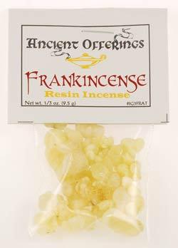 Frankincense Tears granular incense 1/3oz