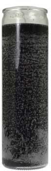 Black 7-day jar candle