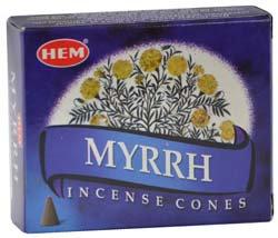 Myrrh HEM cone 10 cones