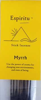 13 pack Myrrh stick incense