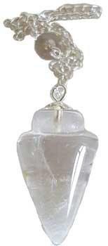 Clear Quartz pendulum